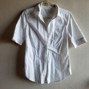 White American Eagle blouse
